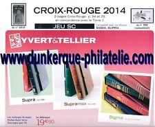 JEU FRANCE  SUPRA YVERT CROIX ROUGE 2014