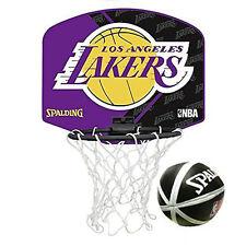 Spalding Micro Mini Basket - LOS ANGELES LAKERS