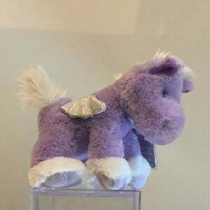BRAND NEW WITH tAGS - HARD TO FIND Russ Shining Stars Purple Pegasus Plush