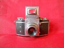 EXAKTA Vorkrieg Model 1937 Kamera mit Tessar Carl Zeiss OBJEKTIV 3,5/ 50 mm