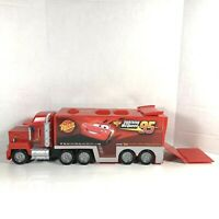 Mattel Disney Pixar Cars - Mack Truck Hauler Carry Case