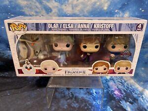 Funko Pop! Vinyl Disney Frozen 2 - Exclusive 4 Pack Olaf, Elsa, Anna, Kristoff