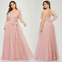 Ever-pretty US Plus Size Formal A-line Evening Party Dress Homecoming Prom Gowns