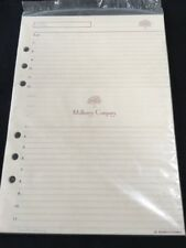 Organiser/Filofax RARE MULBERRY PLANNER TIMES SCHEDULER PACK 210x150mm-SEALED