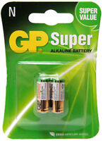2 x GP 910A MN9100 E90 LR1 AM5 KN N 1.5V Batteries