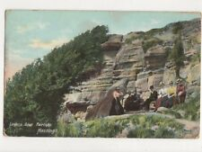 Lovers Seat Fairlight Hastings 1904 Postcard 692a