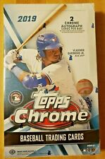 2019 Topps Chrome Hobby Box Sealed Baseball - 2 Autos!!!