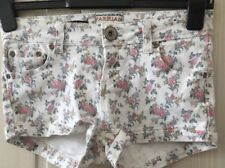 Country Chic Floral Retro Hot Pants Style Blogger Shorts s 10
