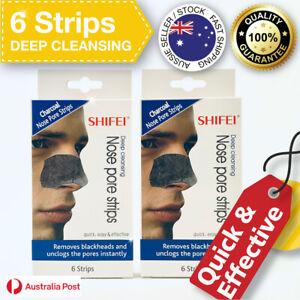 Deep Cleansing Nose Pore Strips Men Removes Blackheads Unclogs Pores 6 Strips