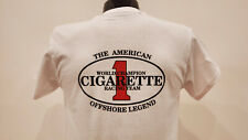 CIGARETTE RACING TEAM T Shirts Boats PERFORMANCE White Size S,M,L,XL,XXL,XXXL