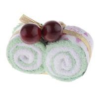 Asciugamano a Forma di Torta al , Confezione da 1 Pezzo,20 * 20 Cotone