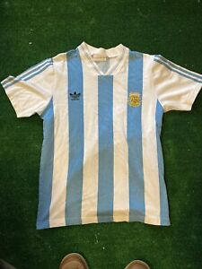 vintage 1993 argentina soccer jersey adidas t4 MINT see measurements rare