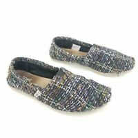 Toms Classics Shoes Woven Wrap Style Slip On Comfort Flats Women Size 6.5