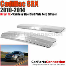 BUMPER SKID PLATE | Aero Diffuser | Stainless Steel Chrome | 10-14 Cadillac SRX