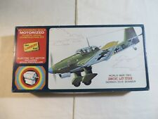 Lindberg Line 1:4 Motorized Junkers Ju87 Stuka Model Kit 3101m Open Box