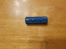 "Odyssey Old School Mini BMX Bike Peg 3/8"" 24T Ano Blue"