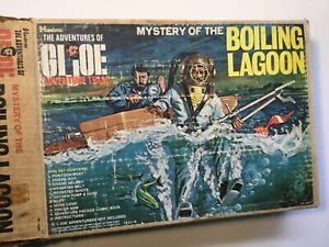 1964 Vintage HASBRO GI JOE TM – 1973 Mystery of the Boiling Lagoon Boxed Set