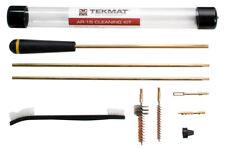 TekMat Gun Cleaning Kit .22 .223 Target Rifle 8 Piece Compact Rod Brushes Jags