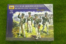 Zvezda ruso Infantería de Línea 1812 – 1814 Kit 6808