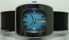 Vintage Sandoz Automatic Day Date Swiss Made Wrist Watch s504 Old Antique Used