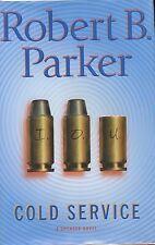 Robert B. Parker signed Cold Service  - 1st. Ed 2000 VG+/NF
