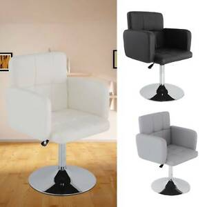 Salon Hairdressing Chair Rotatable 360° Barber Stool PU Dressing Table Chair UK