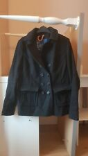 Camisa para mujer Negro Campana de la libertad PEA Coat Talla M (12)