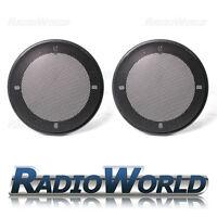 "4"" 100mm Speaker Grills/Covers Universal Fitment Pair Car/Caravan/Home"