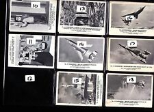 Thunderbirds Somportex Bubblegum Cards LARGE version ..........Pick your own