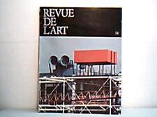 Revue De L'Art N°34 1976 Art Magazine / Book