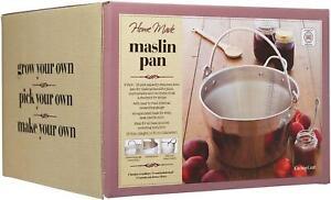 Kitchen Craft Stainless Steel 9L Maslin Jam Marmalade Preserving Pan KCMASLINSS