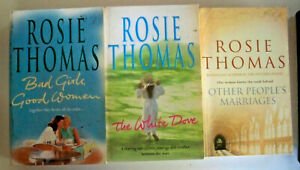 3 x Rosie Thomas - Bad Girls + The White Dove + Other People's Marriages