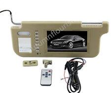"7"" Car Sunvisor Rear View Mirror Screen Lcd Monitor for DVD/GPS/TV Sun visor LH"