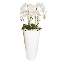 Gesteck XXL 130 cm hoch künstliche Orchideen Pflanze Dekoration Weiß / Groß    5