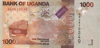 OUGANDA/P49a // Billet de 1000 SHILLINGS-2010