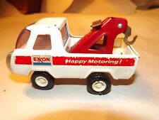 VINTAGE >>>BUDDY L (((EXXON))) HAPPY MOTORING! Medal  Tow TRUCK  Collectible