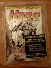Hero Illustrated #1 July '93 VERY RARE SILVER FOIL COVER Jurassic Park, BoneYard