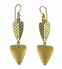 *NEW* ~ Laurel Burch BLESSINGS Gold & Black Earrings ~