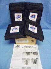 New listing New Set of 4 E-Z Up Brand Deluxe Weight Bag for Instant Shelter Wbpr404Bk Ez-Up