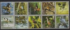 GB 2007 Endangered Espèces (Oiseaux) (10) SG 2764-73 MNH