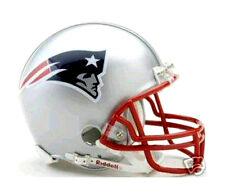 NEW ENGLAND PATRIOTS 6 NFL RIDDELL MINI FOOTBALL HELMET