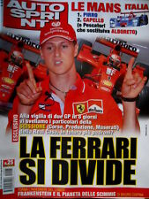 Autosprint 25 2001 Le Mans Italia: 1° Pirro, 2° Capello. Rally Acropoli.