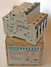 Interruttore Automatico Siemens 5SY6 4327 4P C32 400V