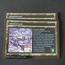 SHADOWLAND | Shadowrun TCG | NM Rare | 1997 OOP CCG