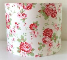 Cath Kidston Floral Lampshade Handmade 20cm Drum, Rosali, Shabby Chic