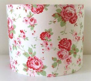 Cath Kidston Floral Lampshade Handmade 20cm Drum, Rosali, Shabby Chic