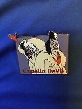 Dinsey Pin Cruella De Vil Moedl Sheet New Le 1000 Disney Auction