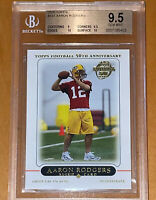 🔥Aaron Rodgers 2005 Topps 50th Anniversary RC #431 BGS 9.5 w/ two 10 subs💎PSA