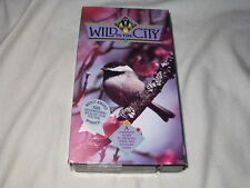 Wild in the City: A Guide To Growing Your Own Wilderness Oasis VHS+Book Nature