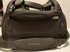 "TUMI Dakota 16"" Carry On Duffle Bag Weekender Olive Green Ballistic Nylon"